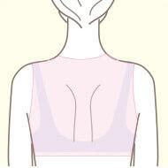梅田院の医療脱毛の部位 背中(ハーフ)