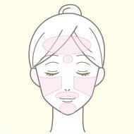 梅田院の医療脱毛の部位 顔全体