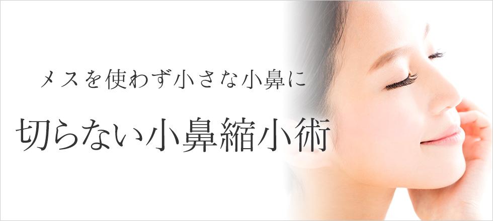 メスを使わず切らない小鼻縮小術