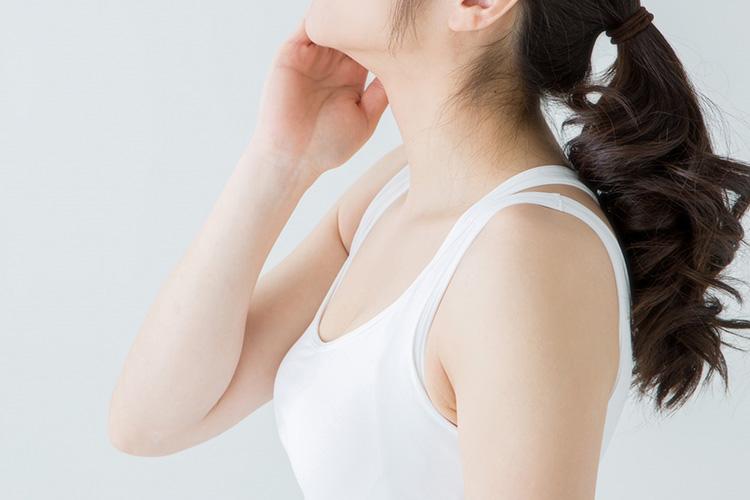 乳頭に悩みがある女性