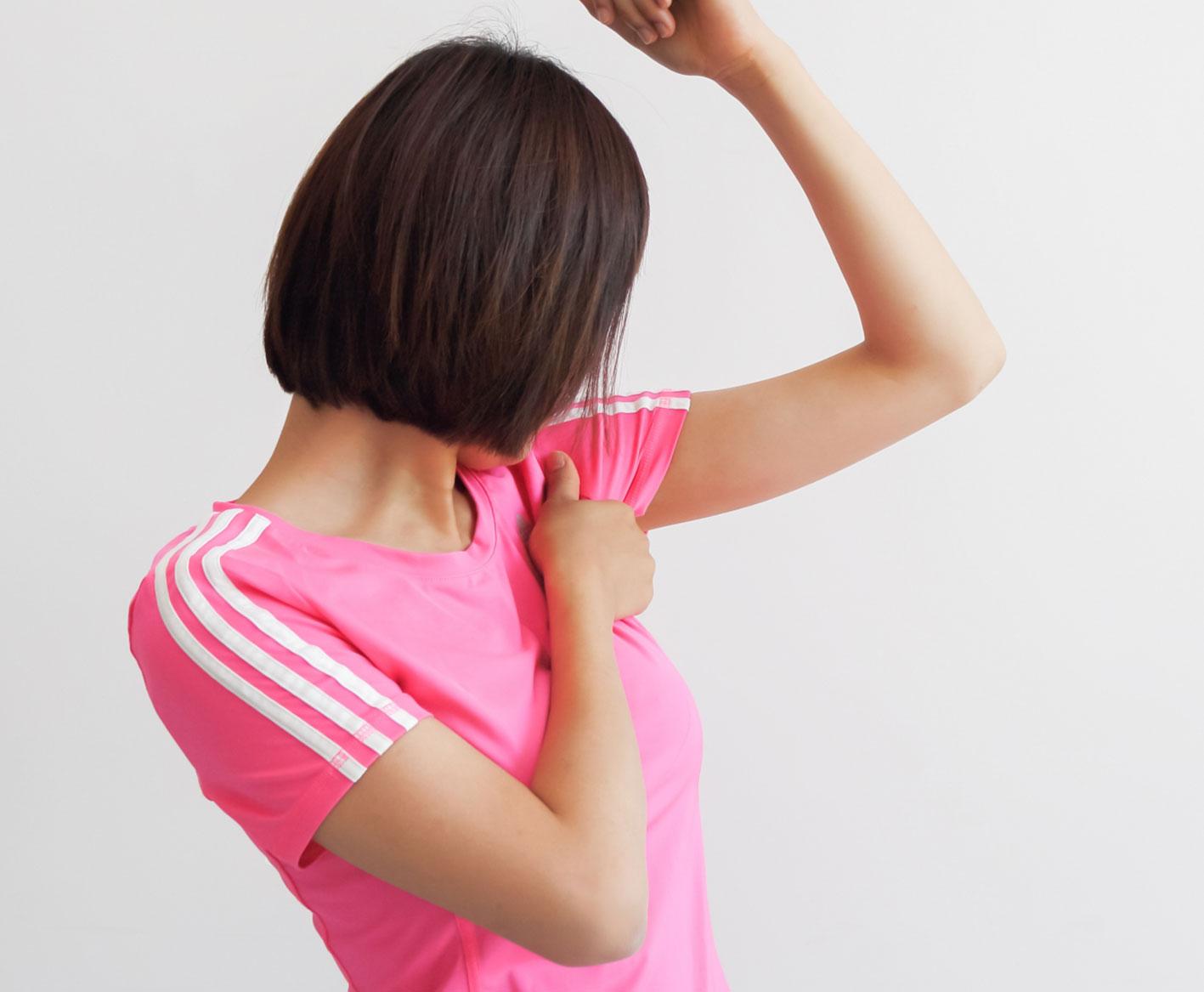 梅田美容皮膚科の多汗症 簡単セルフチェック