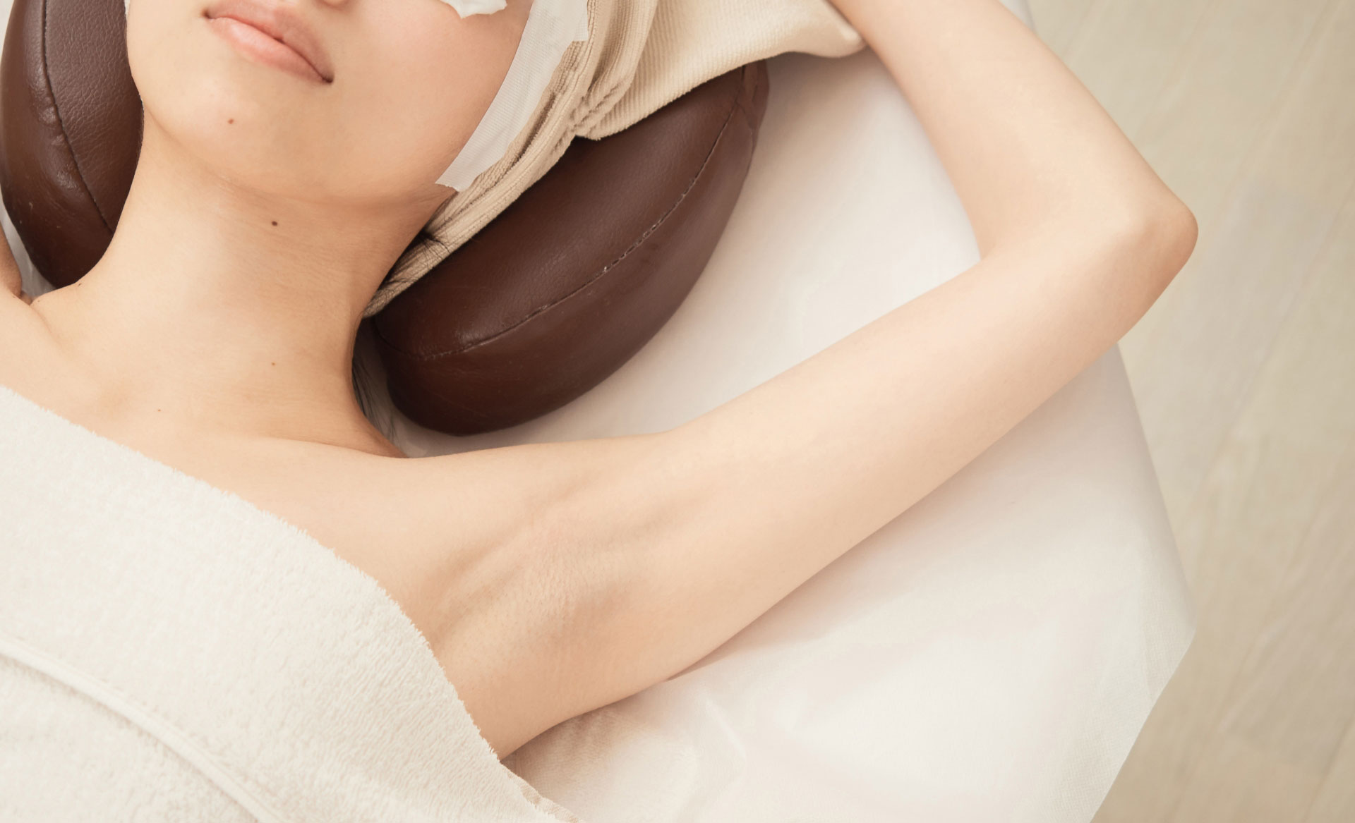 梅田美容皮膚科のわきボトックス注入