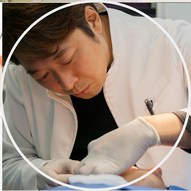 大阪梅田プライベートスキンクリニックの頬脂肪除去(バッカルファット除去)手術の流れ.4 バッカルファット切除