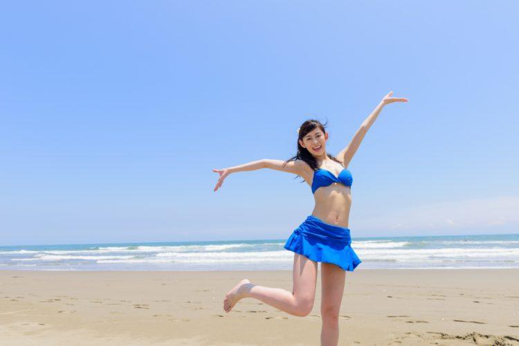 大阪梅田のPSCでVIO医療脱毛をした水着の女性