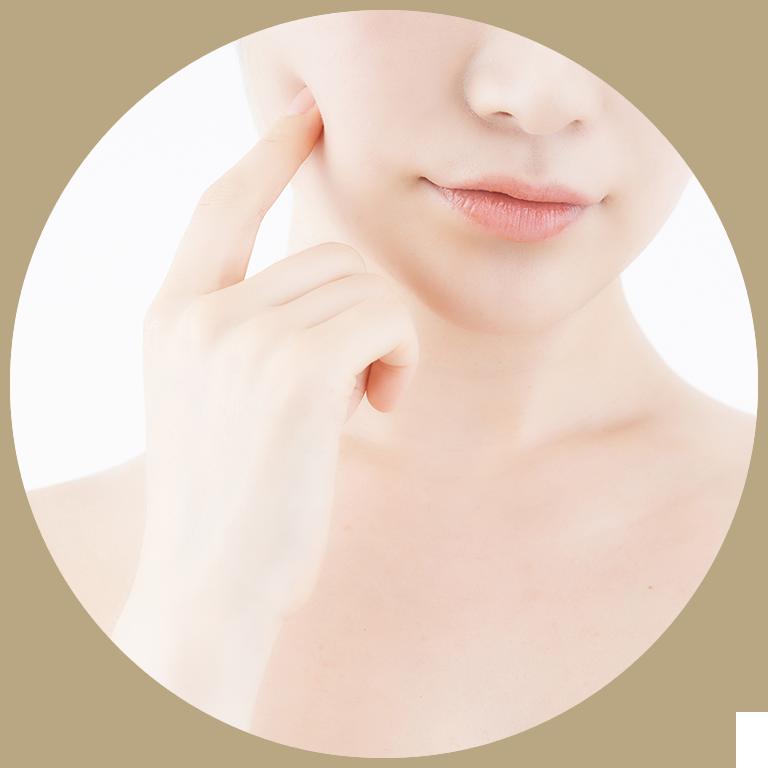 サーモン注射(プラセンテックス注射)の施術の流れ.2洗顔