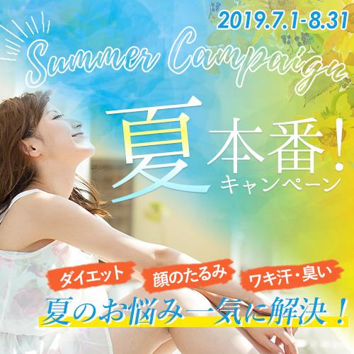 7月8月夏本番キャンペーン