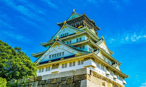 関西観光 大阪城