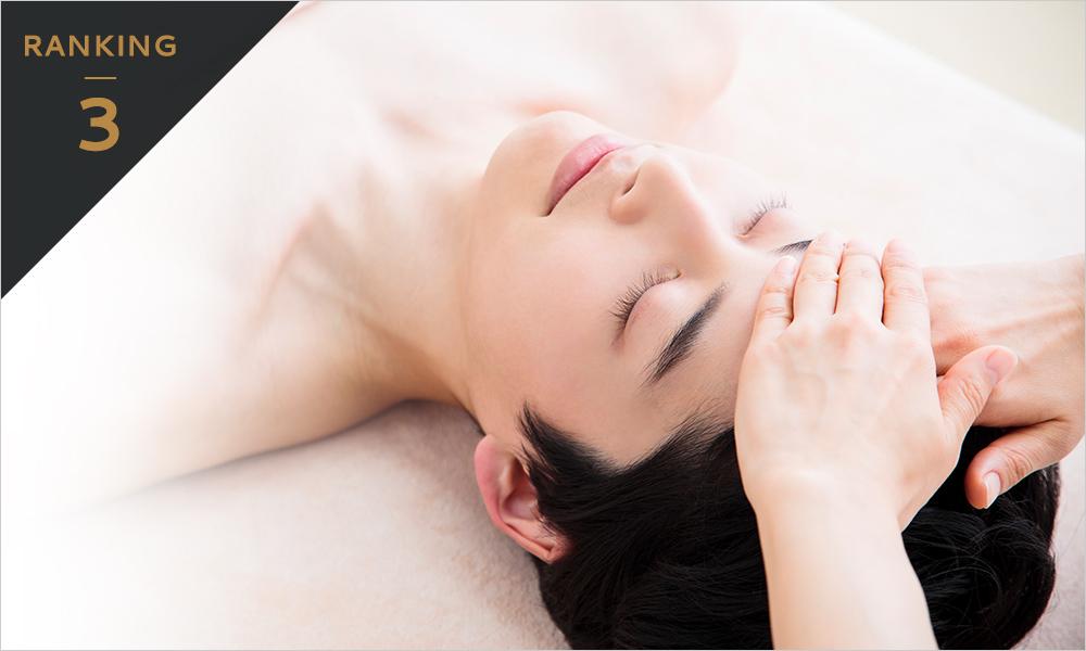 メンズ人気No3美肌メニューのマッサージピールで陥没毛穴・たるみ毛穴の改善、お肌のハリ感アップ