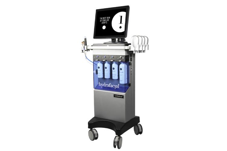 ハイドラフェイシャル施術機器