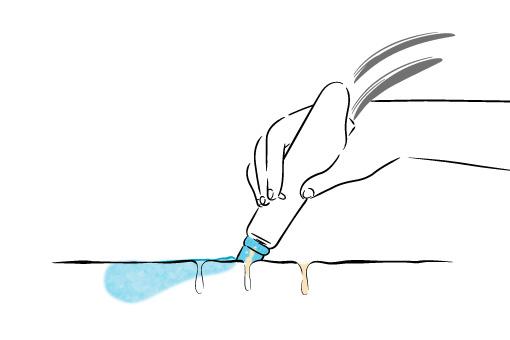 ハイドラフェイシャルのステップ2 毛穴ケアと保湿